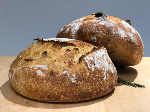 Organic Sourdough Olive and Rosemary