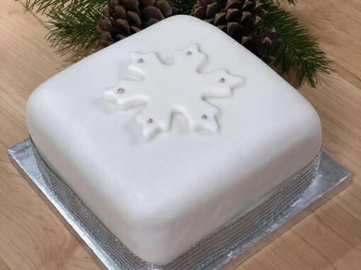Traditional Iced Fruit Cake